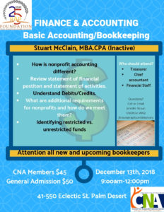 Nonprofit Accounting and Finance